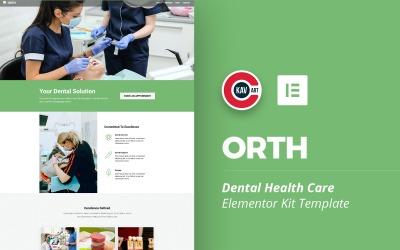 Orth - Kit Elementor de soins de santé dentaire
