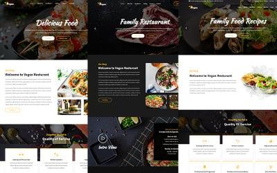 Vegan - Food & Resturant HTML Website Template