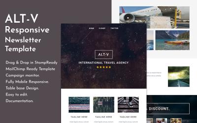 Altv-旅行响应电子邮件通讯模板