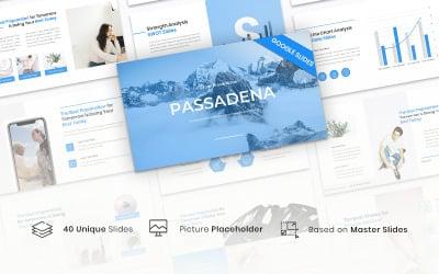 Passadena - Clean  Template Google Slides
