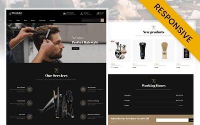 Menshine - Hair Salon Store WooCommerce Theme
