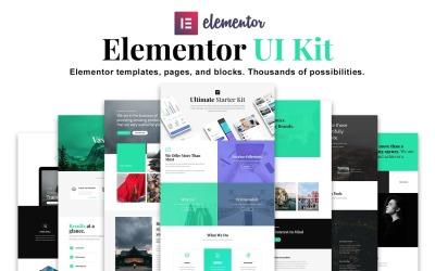 Bach - Kit UI Elementor - Modelli, Kit blocchi