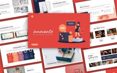 Innovante Creative Presentation PowerPoint Template