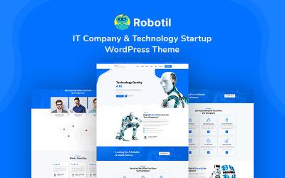 Robotil - IT Company & Technology Startup WordPress Theme