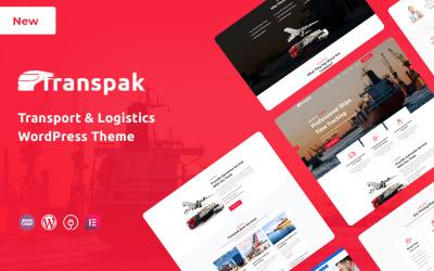 Transpak - Tema WordPress Responsivo de Transporte e Logística