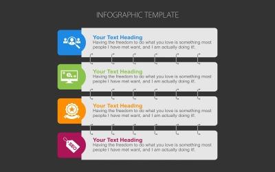 Banner sjabloon infographic elementen