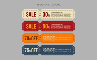 Elementos de infográfico de design de banner
