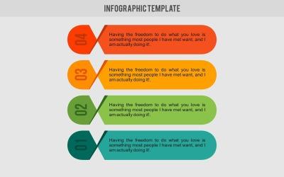 Elementos de infográfico do modelo de banner