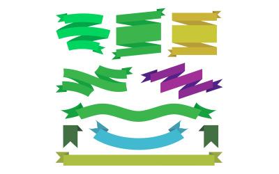 Стрічка дизайн інфографіки елементів