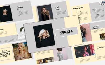 Renata - Creative Business PowerPoint template