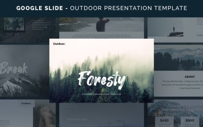Foresty - Outdoor Template Google Slides