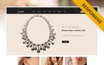 Jewel - Diamantsmyckebutik PrestaShop-tema