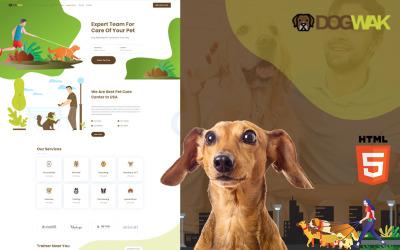 Dog Wak - Dog Walking Services Website Template