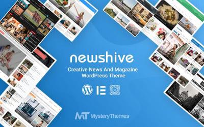 Newshive - Creative, Flexible Magazine, News Portal & Blog WordPress Theme