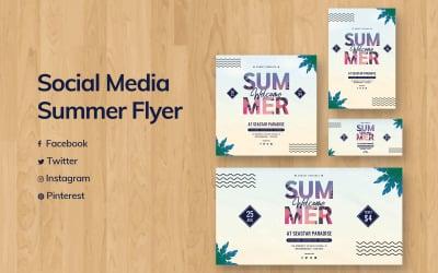 Summer Social Media Template