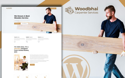 Woodbhai - Carpenter Service and Shop WooCommerce Theme
