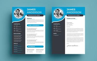 Profesyonel James Anderson Özgeçmiş Teması