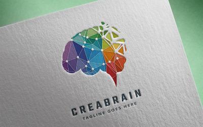 Creatieve brein Logo sjabloon