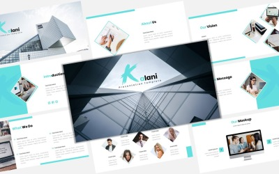 Kalani - Creative Business - Keynote template