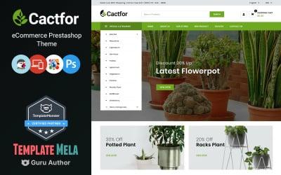 Cactfor - Online-Shop für Pflanzen und Gartengeräte PrestaShop Theme