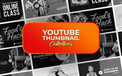 Plantilla PSD de miniatura de Youtube
