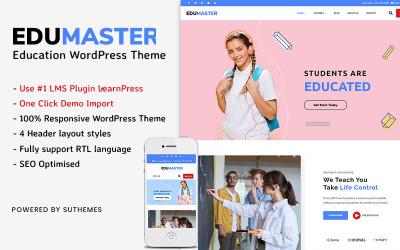 Education WordPress Theme   EduMaster WordPress Theme