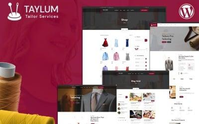 Тема WordPress для стильного індивідуального одягу Taylum