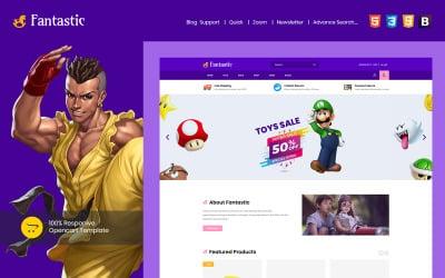 Fantastic - Kids & Toys OpenCart Template