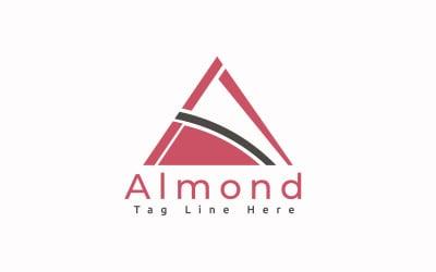 Almond Logo Template