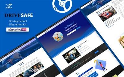 Drive Safe - Driving School Template - Elementor Kit