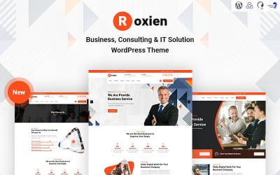 Roxien - Business, Consulting and IT Solution WordPress Theme