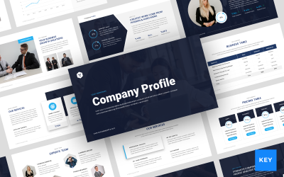 Company Profile Presentation - Keynote template