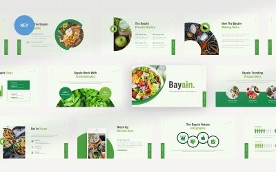 Bayain Healthy Food - Keynote template