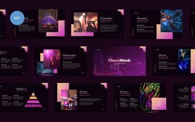 CheatMonk Creative Business - Keynote template