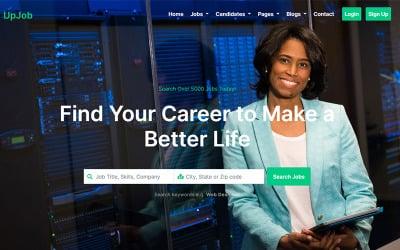 UpJob - Job & Directory HTML5 Bootstrap Website Template