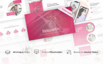 Romantic - Wedding Organizer Presentation Template