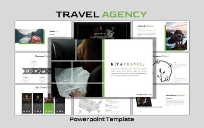 KitaTravel - Szablon slajdu Google dla firm kreatywnych