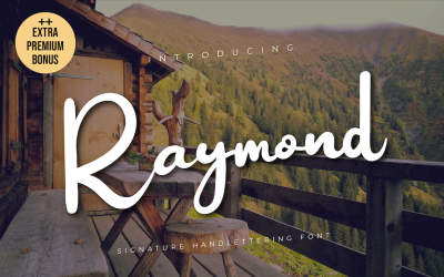 Raymond字体