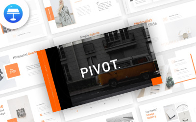 Pivot Minimalist - Keynote template