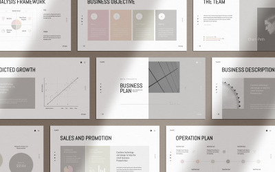Plantic Business Plan - Keynote template