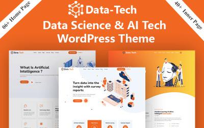 DataTech - Data Science & AI Tech And  IOT WordPress Theme