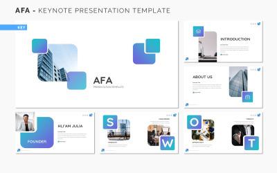 AFA - Keynote bemutató sablon