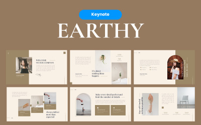Earthy Elegant - Keynote template
