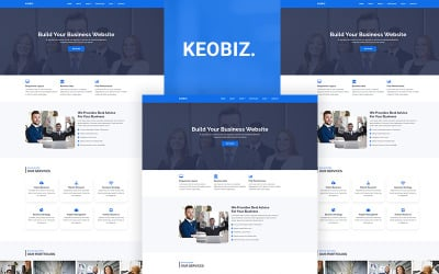 Keobiz - Consulting Business HTML Template