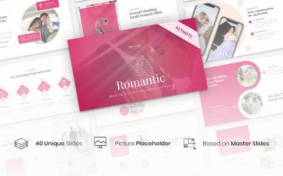 Romantic - Wedding Organizer - Keynote template