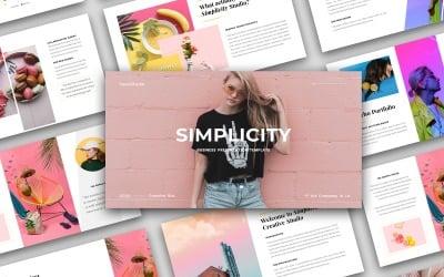 Simplicity - Business Presentation - Keynote template
