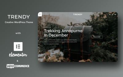 Trendigt - WordPress-tema för kreativt mode