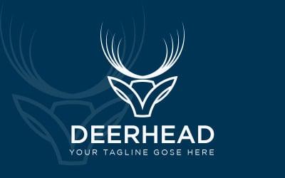 Deer Head Business Logo