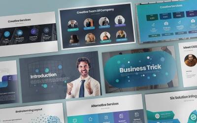 Business Trick - Keynote template
