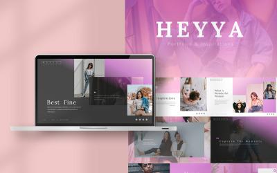 Heyya - Keynote templates